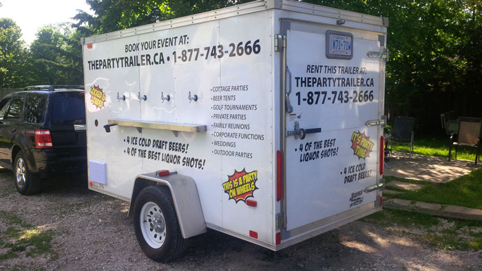 The Party Trailer - Mobile Draft Beer & Liquor Shots