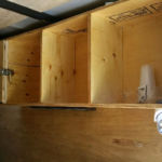 The Party Trailer - Shelving Storage & Lock Box