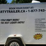 The Party Trailer - Mobile Draft Beer & Liquor Dispenser